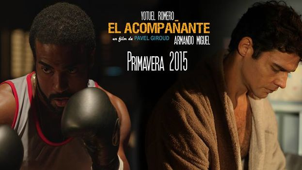 El cartel de la película 'El acompañante', de Pavel Giroud. (FACEBOOK)