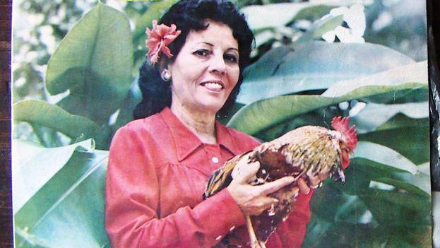 La portada de un álbum de Celina González.