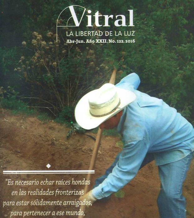 La portada del número 122 de 'Vitral'.