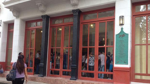 El primer día de curso en la nueva sede del Instituto Confucio de La Habana. (14ymedio)