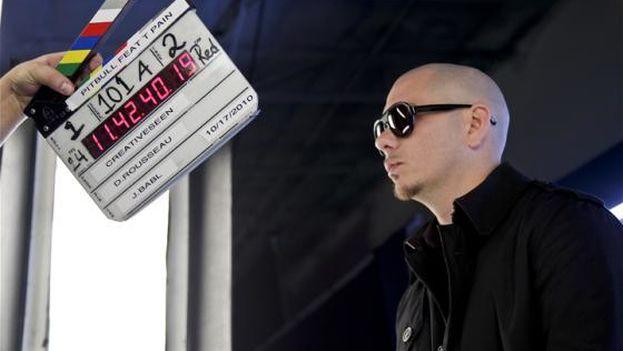 El rapero cubanoamericano Pitbull. (Pitbull)