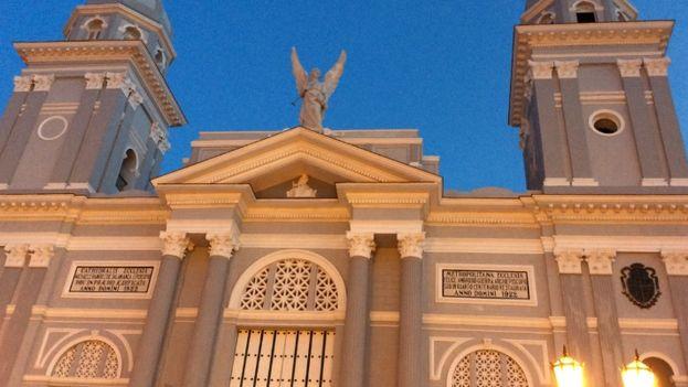La recién restaurada catedral de Santiago de Cuba. (D. Deloy)
