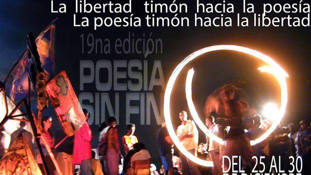 Uno de los momentos trascendentales del Festival siempre fue la peregrinación poética en la noche del 16 de diciembre y no se descarta que vuelva este año. (Festival mundial Poesía Sin Fin/Facebook)