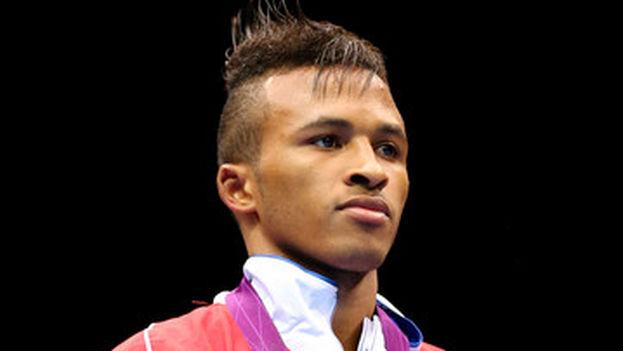 Boxeador cubano Lázaro Álvarez Estrada