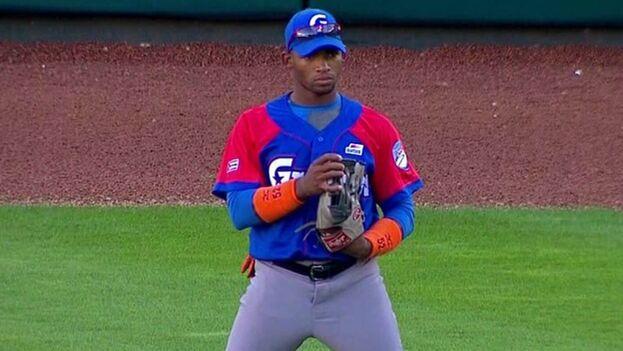 Céspedes jugaba con el equipo Granma en la Serie Nacional de Cuba y está considerado un jugador de cinco herramientas. (Cuban Play)