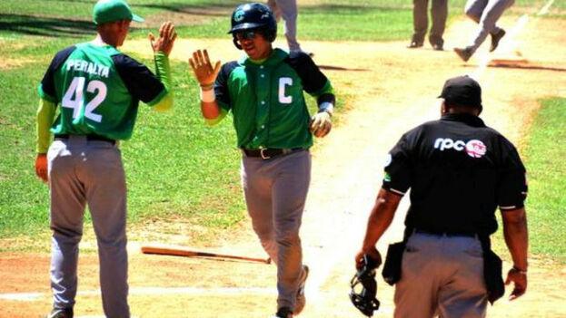 Cienfuegos derrotó a Matanzas el pasado día 31 y se clasificó para la semifinal de la sub-23.(Aslam Castellón)
