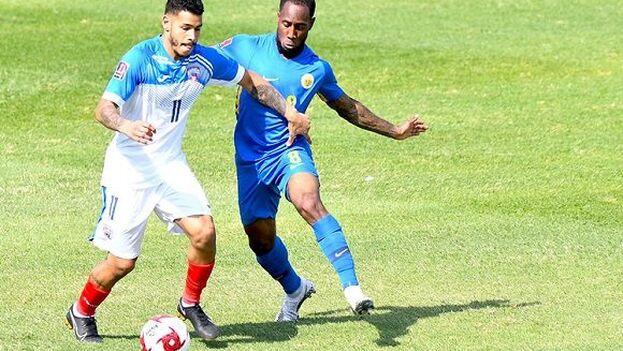 Cuba es la última de su grupo junto a San Vicente y las Granadinas, que tiene más goles en contra. (Prensa Latina)