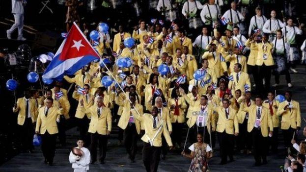Delegación cubana en los Juegos Olímpicos de Londres 2012
