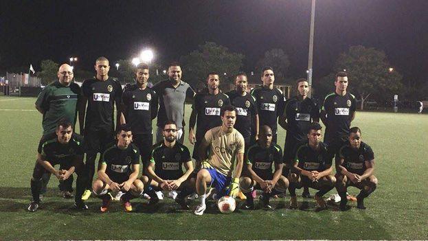 El equipo cubano Fortuna SC. (Blog de Fútbol Cubano)