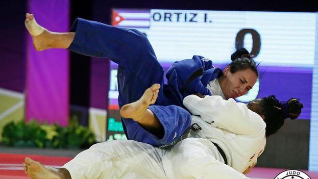 Idalis Ortíz será una de las nueve representantes cubanas que asistirán a las Olimpiadas en Río de Janeiro. (IJF Media/G. Sabau)