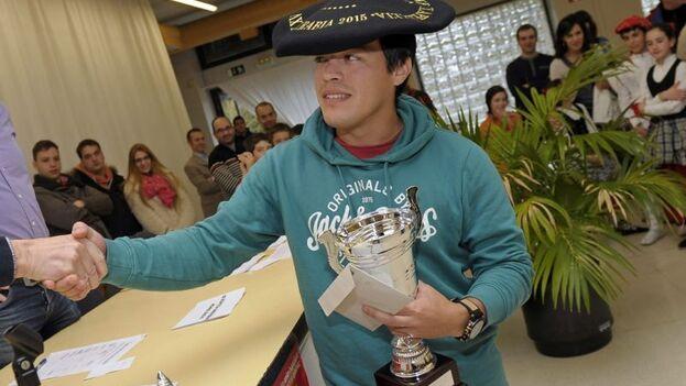 Iturrizaga se impuso en el apartado Élite del certamen en el que compitieron diez Grandes Maestros y consiguió siete triunfos. (EFE)