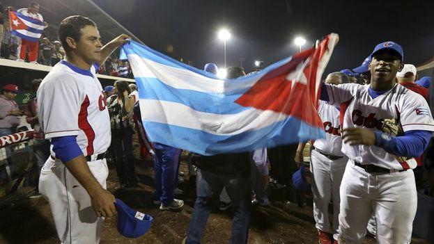 El equipo cubano de béisbol se coronó campeón en los Juegos Centroamericanos y del Caribe, Veracruz 2014 (EFE)
