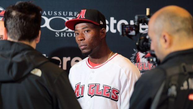 Julio Martínez abandonó a su equipo cuando jugaba en Nueva York. (Aigles de Trois-Rivières)