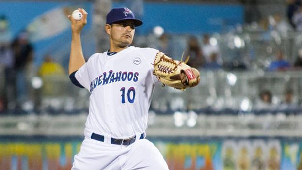 Mark Serrano, 'pitcher' mexicano. (MILB.com/Chris Nelson)