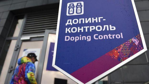 Oficinas de control de dopaje en Sochi. (EFE)