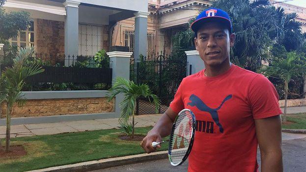 Osleni Guerrero comenzó a practicar el bádminton con solo ocho años, cuando estaba en tercer grado de la escuela primaria. (14ymedio)