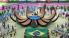 Sao Paulo ofreció la gala inaugural más corta de la historia en un Mundial. (Mauricio Dueñas, EFE)