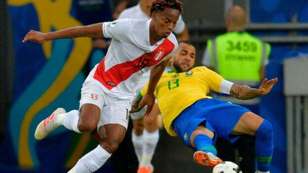 Perú y Brasil disputaron la última final de Copa América en 2019. Los cariocas se quedaron con el título. (EFE)