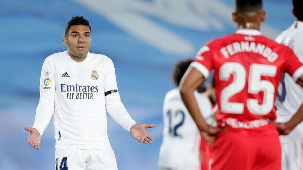 Polémica con el VAR en el partido del Real Madrid y el Sevilla. (Eurosport)