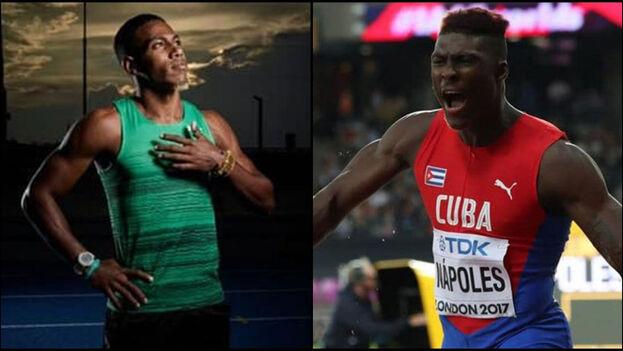 Reynier Mena y Cristian Nápoles abandonan el equipo de atletismo cubano