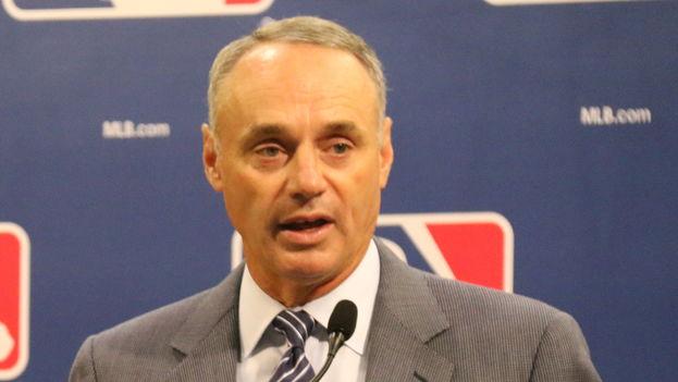 Rob Manfred, comisionado de las Grandes Ligas (CC)