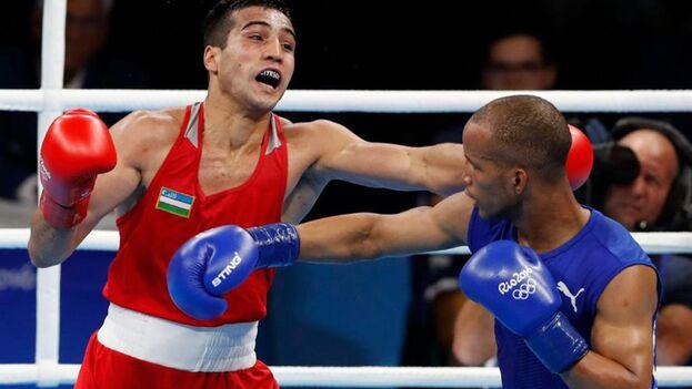 Roniel Iglesias en una pelea en Río 2016. (EFE)
