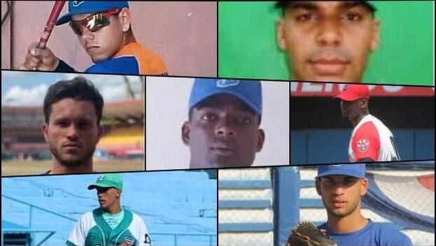 Suman siete los peloteros que han abandonado el equipo Cuba desde el martes 21 de septiembre. (Collage)