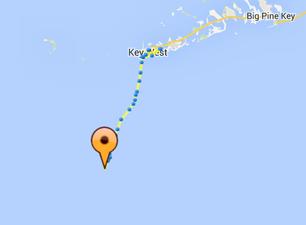 Ubicación de las embarcaciones a las 10:25 hora del este. (Havana Challenge Live Tracking)