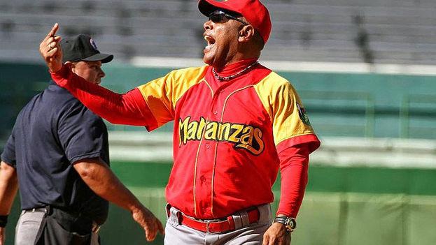 Víctor Mesa ha tenido suficiente poder para formar un elenco con jugadores que en su mayoría vienen de otras provincias. (BaseballCuba)