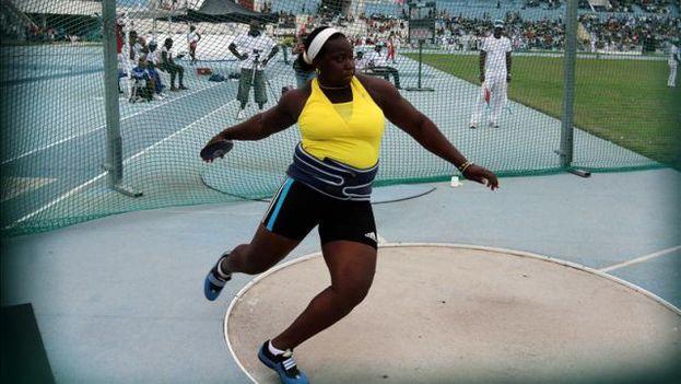 La atleta cubana Yarelis Barrios. (EFE)