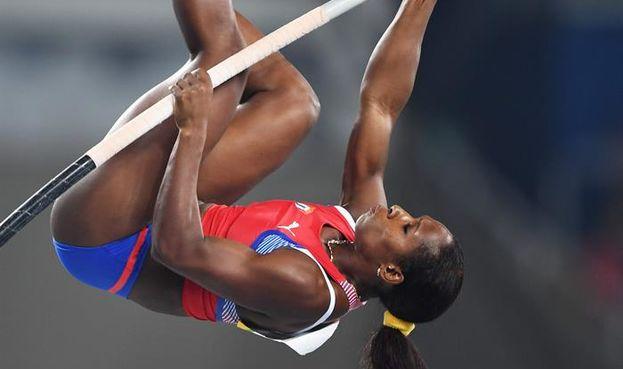 La atleta cubana Yarisley Silva. (EFE)