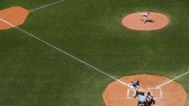 Un campo de béisbol. (CC)