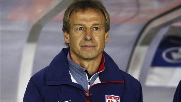 El entrenador de la selección de fútbol estadounidense, Jürgen Klinsmann. (EFE)