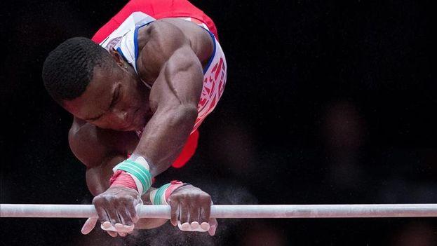 El gimnasta cubano Manrique Larduet. (EFE)
