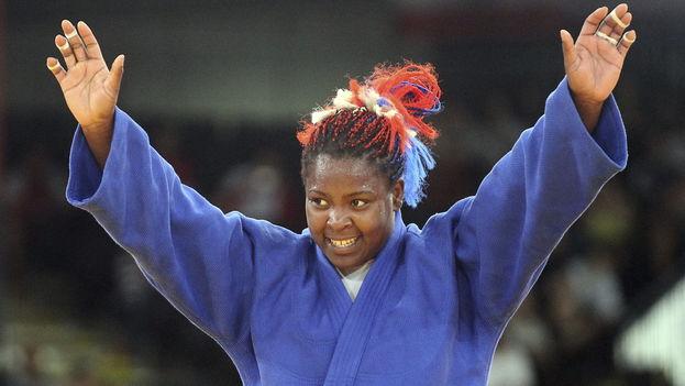La judoca cubana, Idalis Ortiz. (Fameimages)