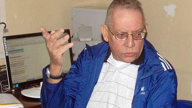 El narrador deportivo de la radio y la televisión cubanas, Héctor Gregorio Rodríguez Alamaral. (Juventud Rebelde)