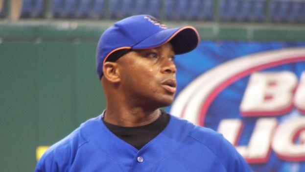 El pelotero Orlando 'El Duque' Hernández. (Wikicommons)