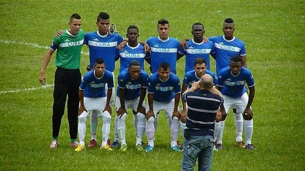 La selección cubana de fútbol sub 20. (Blog del Fútbol Cubano)