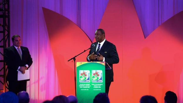 El vicepresidente de la FIFA, Jeffrey Webb. (Flickr)