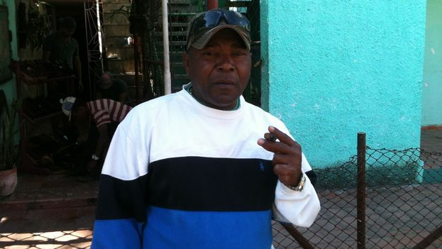 Lazaro Madera, el padre de Osniel Madera (Juan Carlos Rodríguez)
