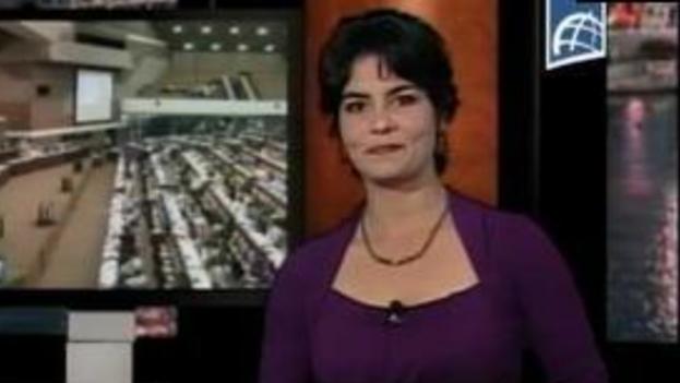 La periodista Talía González.