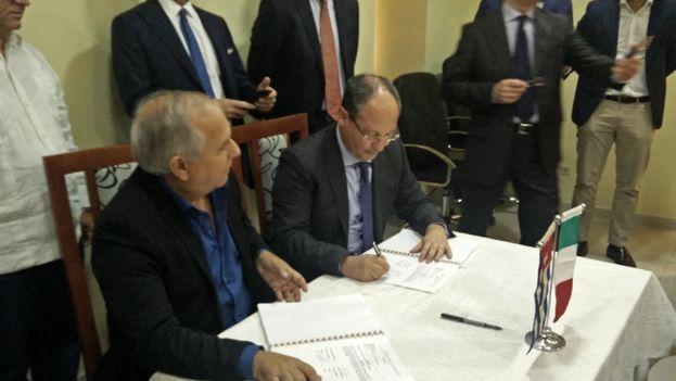 A través de la AEI Trinidad, el grupo italiano T.O.MA. estableció otro contrato en abril pasado para edificar un hotel para la compañía turística española Meliá Internacional, también en la ciudad central de Trinidad. (@ITA_Lavana)