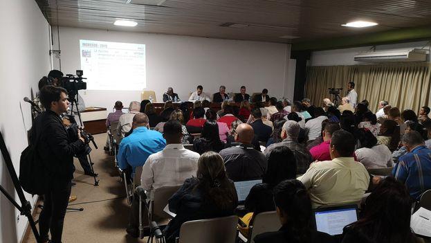 Debate de las comisiones de la Asamblea Nacional durante la presentacion del plan de la economía y el Presupuesto para el 2019. (@DíazCanelB)