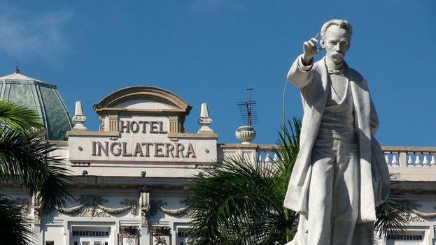 Hotel Inglaterra en La Habana. (Phil Guest)