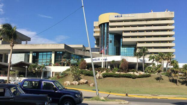 La compañía hotelera española Meliá tiene 32 hoteles operativos en el archipiélago, 7 en construcción y unas 15.000 habitaciones. (14ymedio)