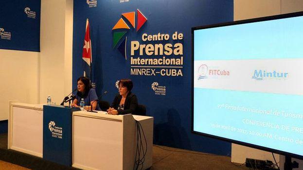 Presentación de FitCuba 2017 este miércoles en La Habana. (Minrex)