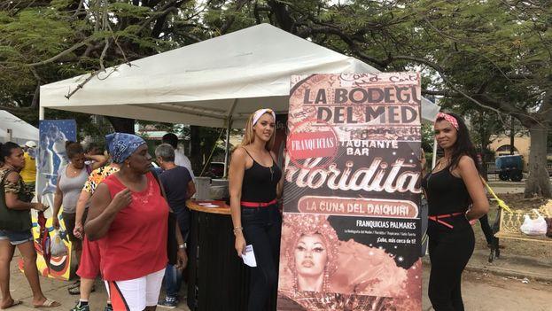 Feria de Turismo en el parque Lennon de La Habana. (Manuel Marrero)