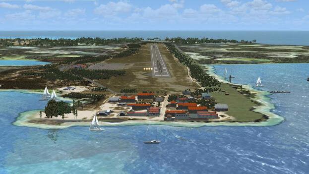 La pista de aterrizaje del aeropuerto está dañada y hasta el próximo 26 de febrero no se reanudarán los vuelos.