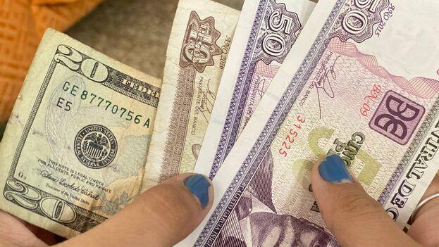 El dólar ha circulado en la Isla incluso cuando su tenencia estaba fuertemente penalizada. (14ymedio)
