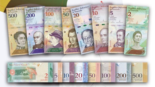 La denominaciones de los nuevos billetes están más ajustadas a la inflación nacional. (vicepresidencia.gob.ve)